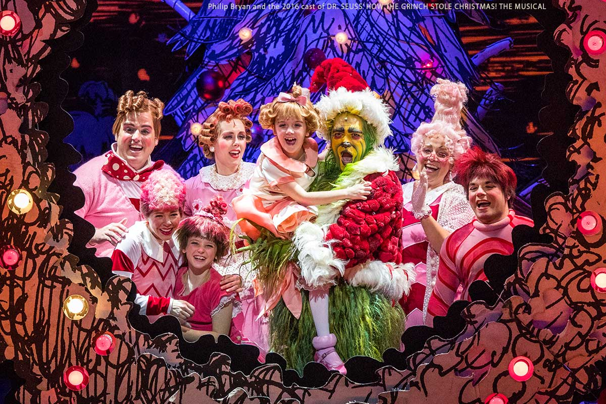 dr seuss how the grinch stole christmas the musical proctors - How The Grinch Stole Christmas