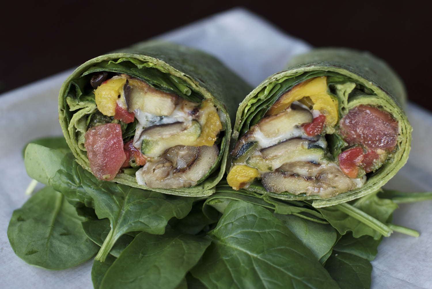 The Apostrophe, a wrap available at Apostrophe Cafe at Proctors. Photo taken Wednesday, February 14, 2018.