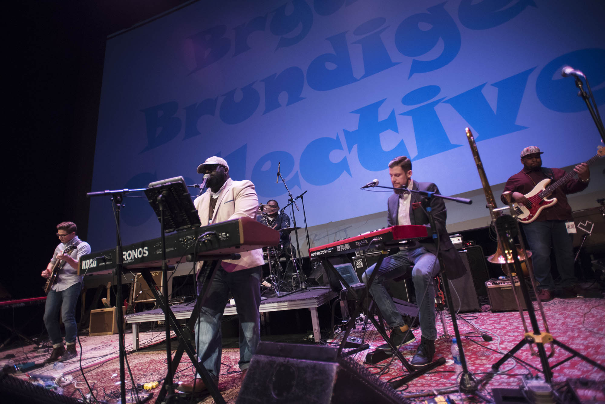Bands perform during the first Capital Records Live! at Proctors Friday, MArch 23, 2018.