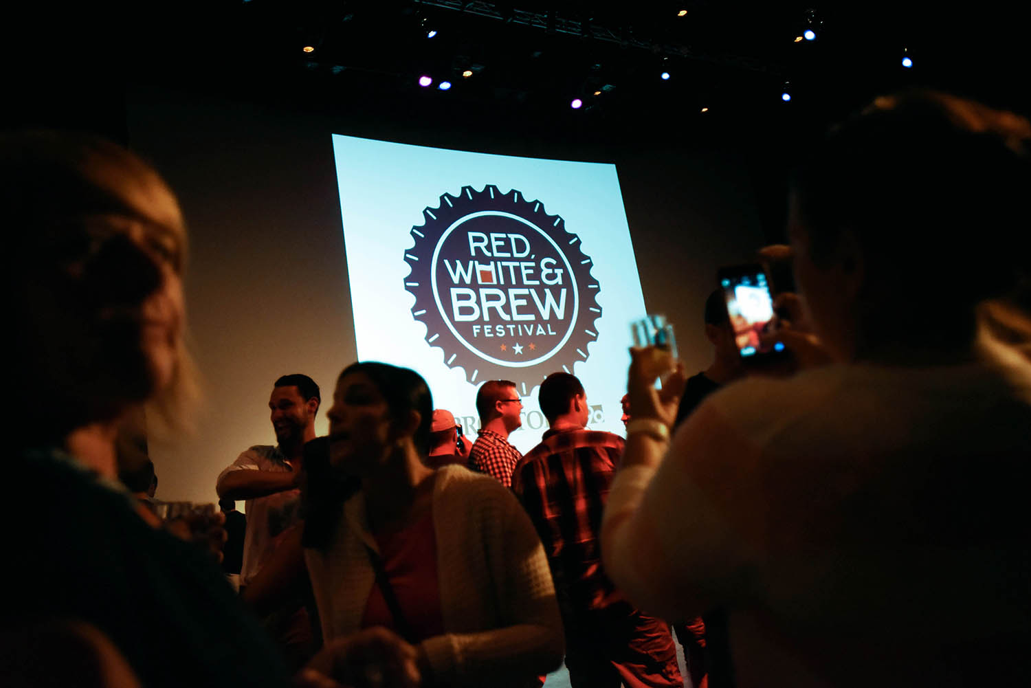 Hundreds of people kicked off their July 4th holiday weekend at Red, White & Brew at Proctors Friday, June 30, 2017.
